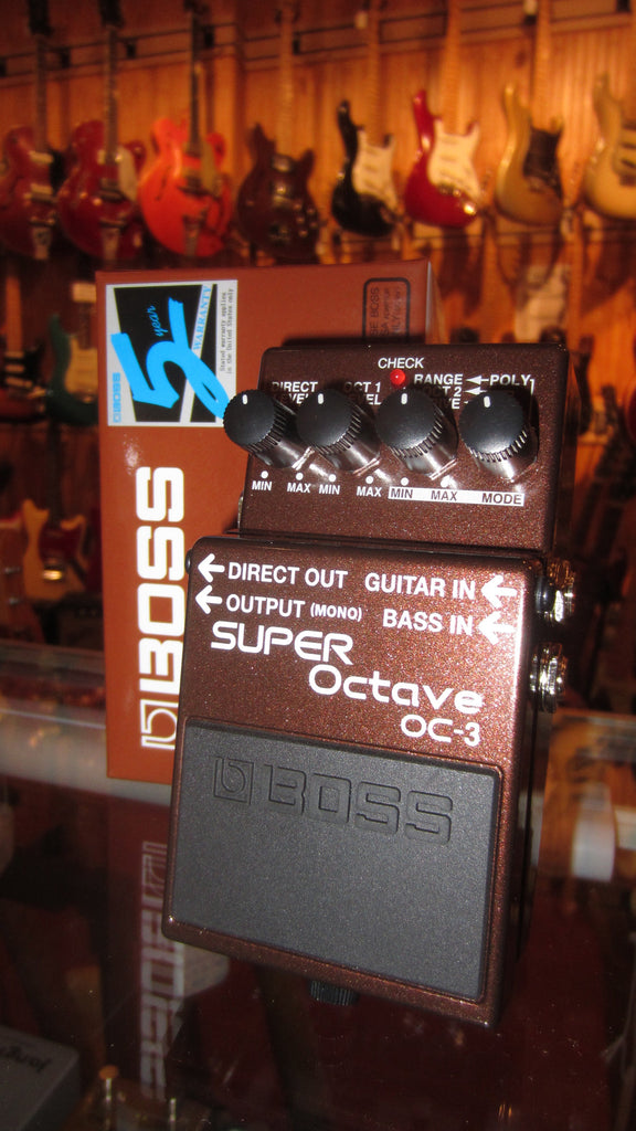 2019 Boss OC-3 Super Octave Brown