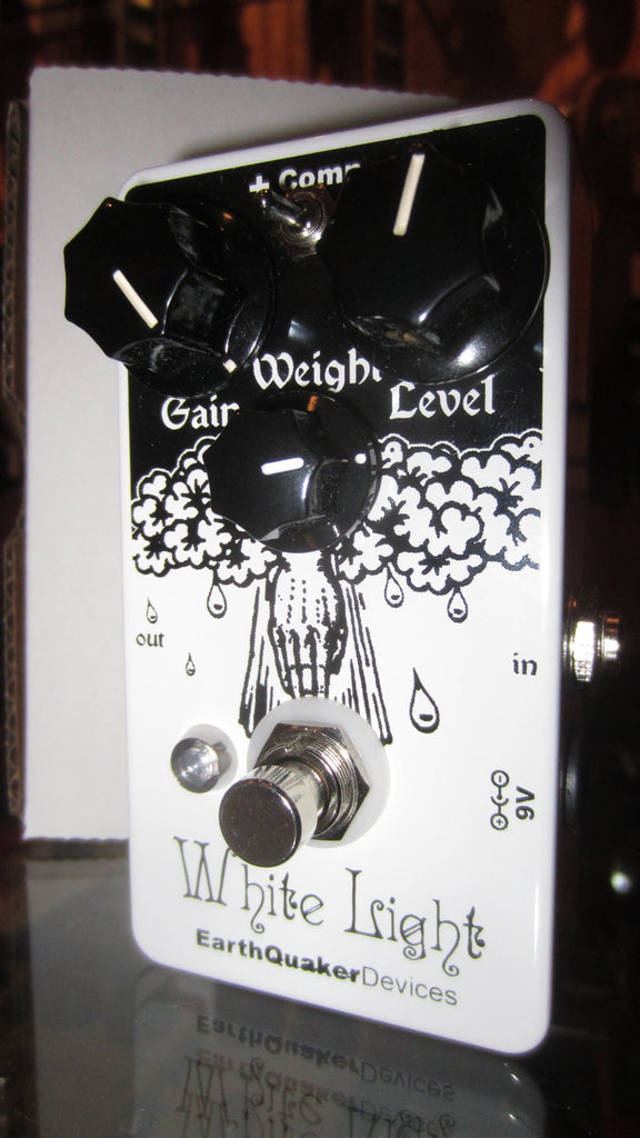 EarthQuaker Devices White Light Overdrive White