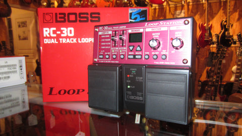 2019 Boss RC-30 Loop Station Red