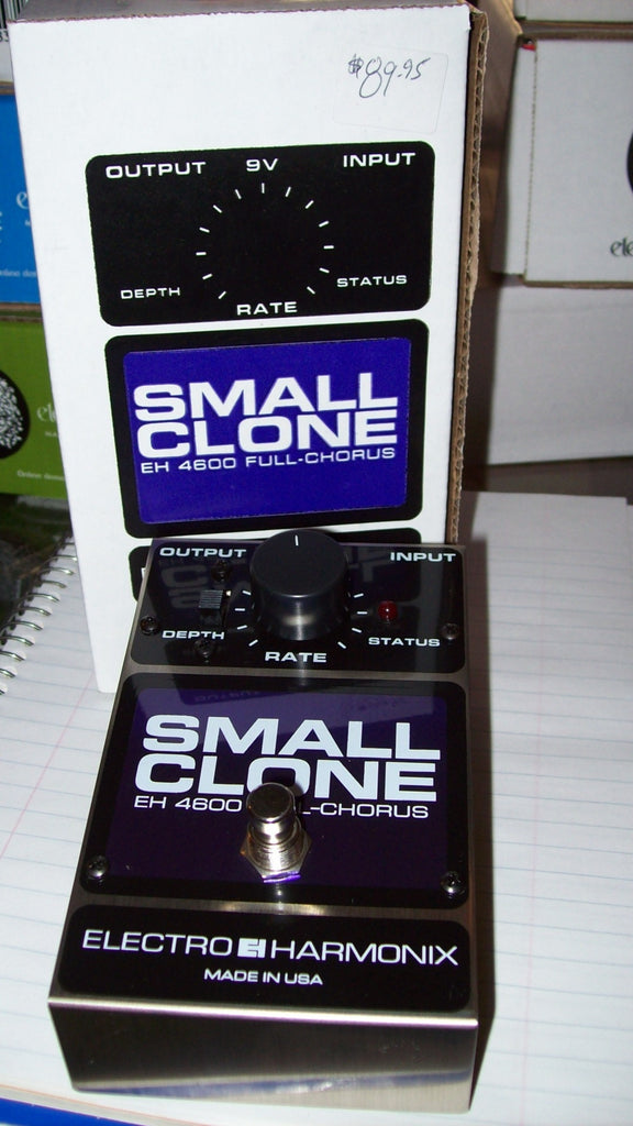 2017 ELECTRO HARMONIX Small Clone Purple and silver