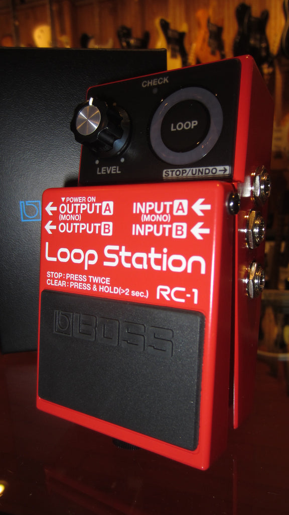 2017 Boss RC-1 Looper Red
