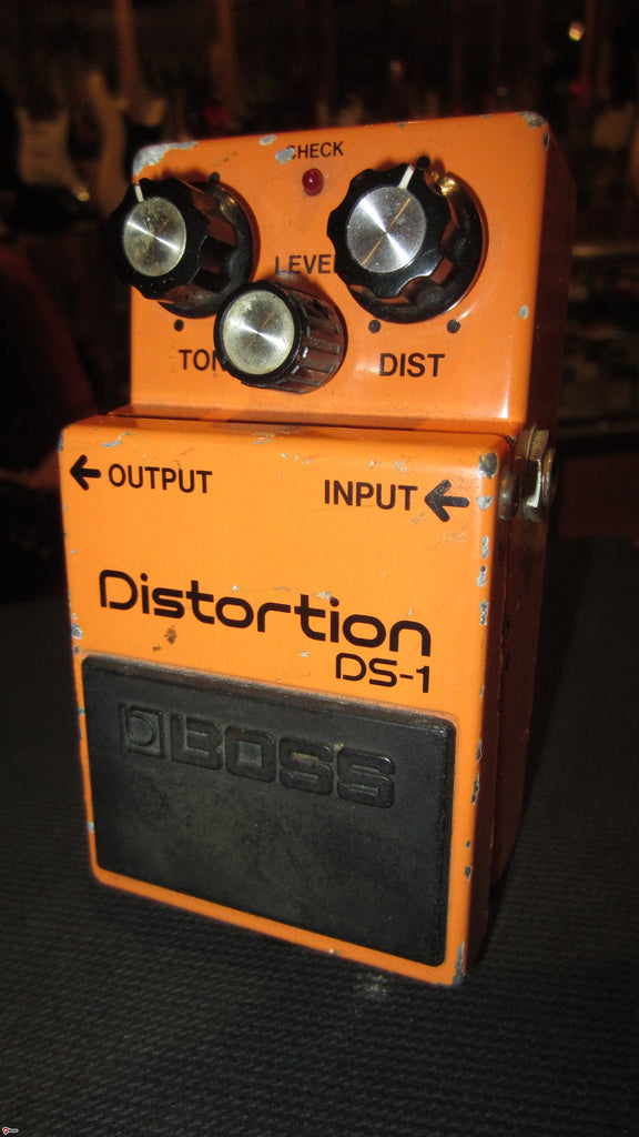Circa 1989 Boss DS-1 Distortion Early Made in Japan