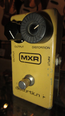 1978 MXR Distortion Plus Yellow