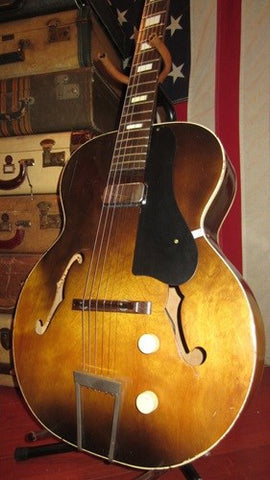 Vintage Circa 1962 Harmony H39 Hollywood Hollowbody Electric