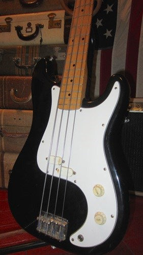 Vintage Circa 1983 Squier By Fender Bullet Bass