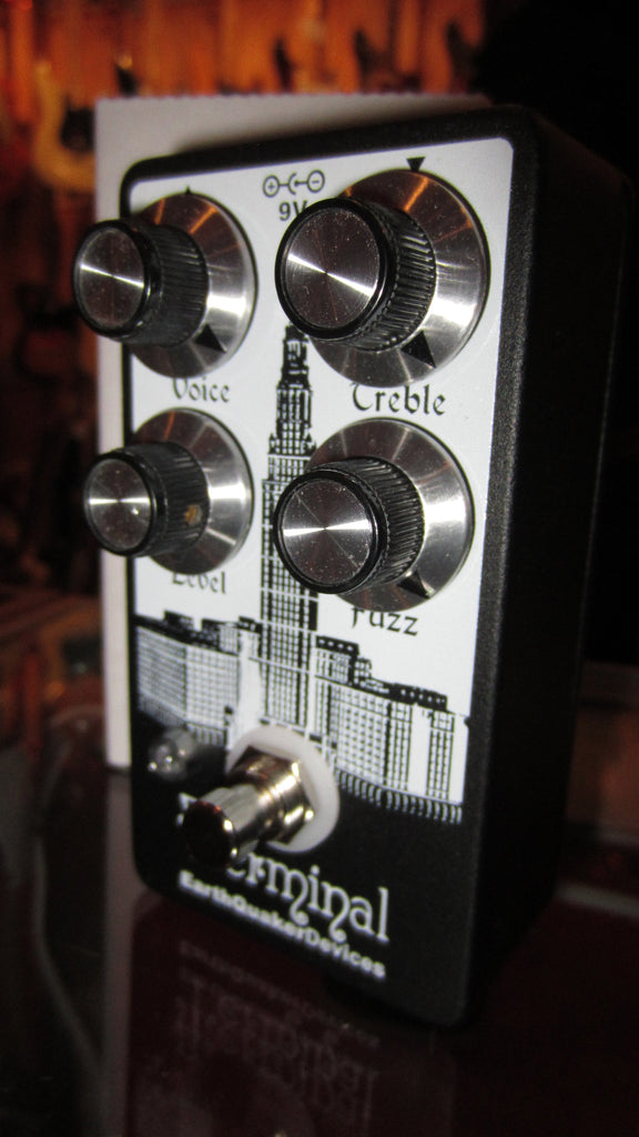 EarthQuaker Devices Terminal Fuzz Black and White