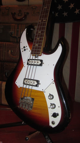 Circa 1967 Norma Electric Bass Double Pickup