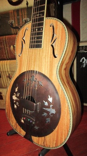 Washburn R-360SMK Resonator Parlor Guitar
