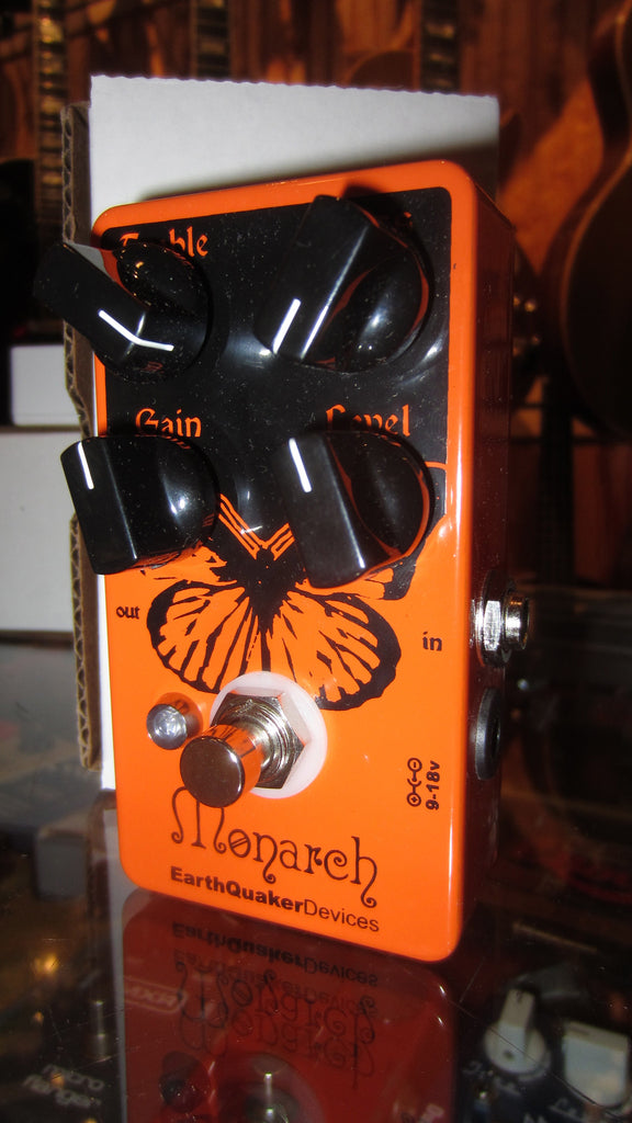 EarthQuaker Devices Monarch Overdrive Orange