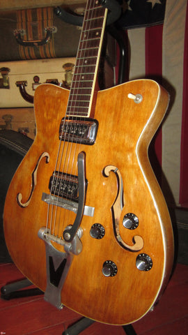 1966 Martin GT-75 Archtop Hollowbody Electric w/ DeArmond™ Pickups