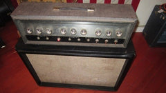 Vintage original 1965 Silvertone Model 1484 Twin Twelve amp nice and clean