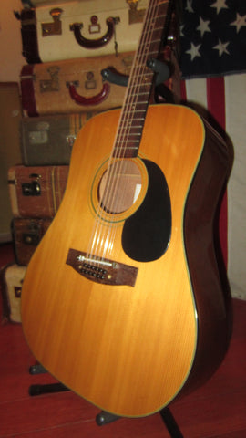 1974 Martin Sigma DM 12-5 12 String Acoustic