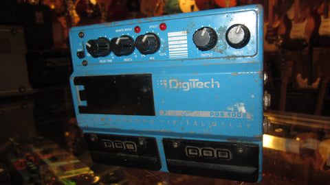 1989 Digitech PDS 1002 Two Second Digital Delay Blue