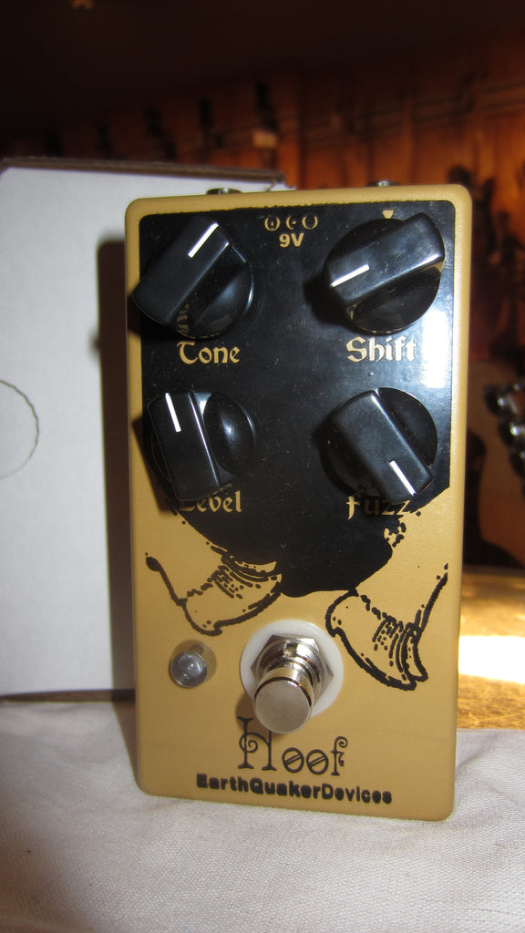 EarthQuaker Devices Hoof Fuzz Yellow