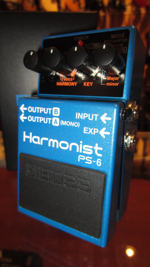 2019 Boss PS-6 Harmonist Blue