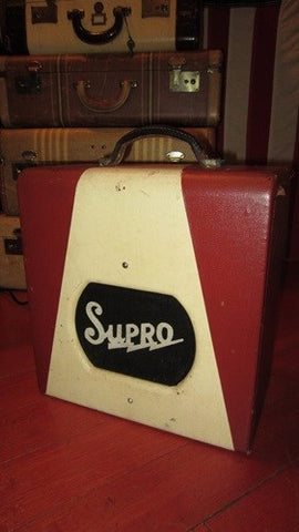 Killer Little Vintage Original 1956 Supro Combo Amp