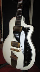 Killer Vintage 1958 Supro Dual Tone In Original Black And White Finish