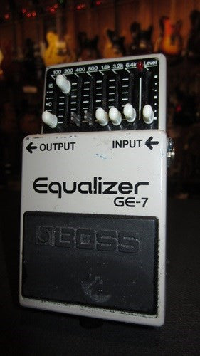 Circa 1992 Boss GE-7 Equalizer Made in Japan