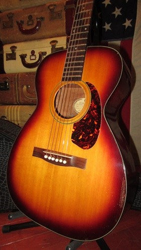 Vintage Original 1965 Guild F-20 Small Bodied Acoustic