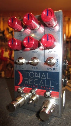 Chase Bliss Tonal Recall RKM Red Knob Mod