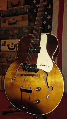 Vintage 1960's Guild / Harmony Hollowbody Electric