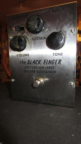 1972 Electro-Harmonix The Black Finger Distortion-Free Guitar Sustainer Compressor