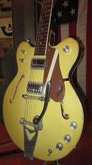 1967 Gretsch Rally Bamboo Yellow