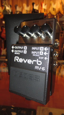 2019 Boss RV-6 Reverb Grey