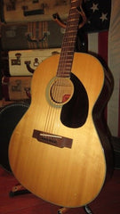 Vintage Circa 1971 Yamaha Red Label FG-75 Made In Japan