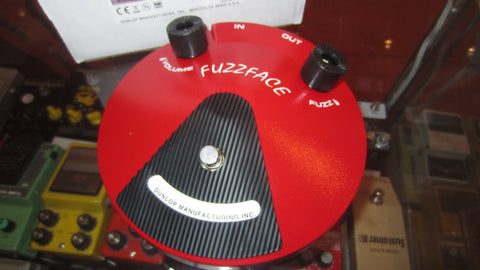2013 Jim Dunlop Fuzz Face Distortion Red