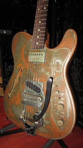 "2009 James Trussart Deluxe Steelcaster w/""Big Bigsby"""