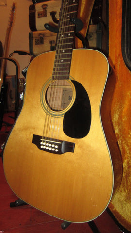 1975 Ibanez Model 627-12 12 String Acoustic