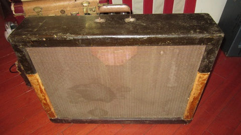 "Vintage 1956 Gibson GA-200 Combo Amp Twin 12"" Speakers"