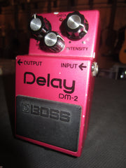 Circa 1980's Boss DM-2 Analog Delay
