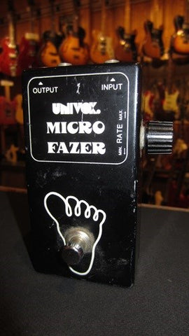 1970's Univox Micro Fazer Phase Shifter Sounds Fantastic