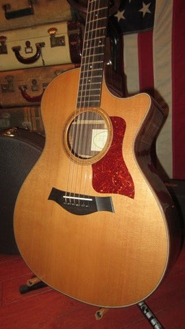 2006 Taylor Model 712 Acoustic Electric Cutaway w/ Original Hard Case