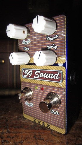 ZVex 59 Sound Vertical Vexter Series Overdrive Distortion Pedal