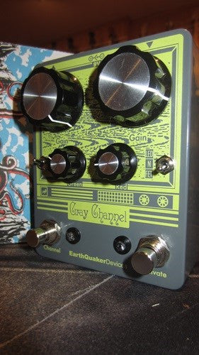 Earthquaker Devices Gray Channel Overdrive