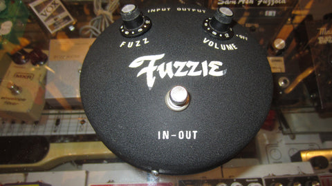 1972 Fuzzie FuzzFace Copy Black