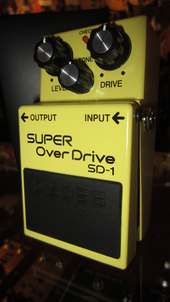 2019 Boss SD-1 Super Overdrive Yellow