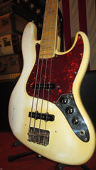 Vintage 1974 Fender Jazz Bass Olympic White