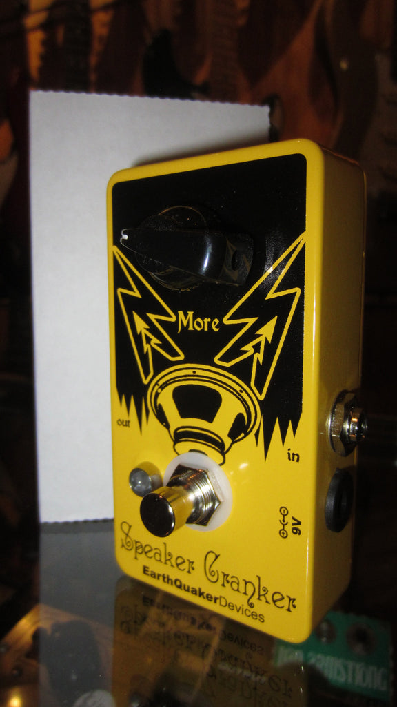 EarthQuaker Devices Speaker Cranker Yellow