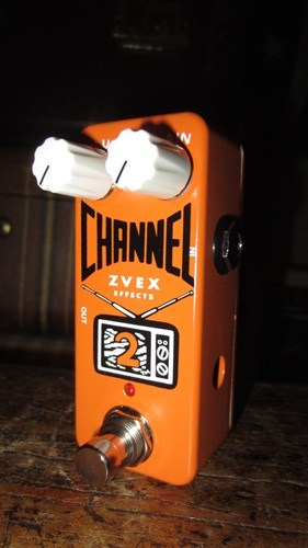 ZVex Channel 2 Boost/Overdrive Pedal