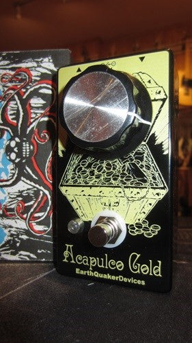 Earthquaker Devices Acupolco Gold Power Amp Distortion
