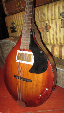 Vintage Circa 1954 Marvel Electric Mandolin