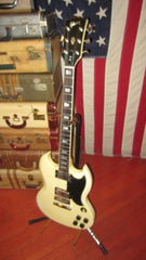 Awesome 1976 Gibson SG Standard in original White finish