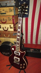 2006 Gibson Les Paul Standard Plus Wine Red Flame Top