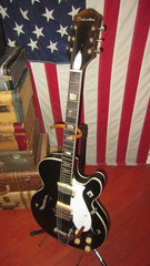 Vintage original Circa 1963 Silvertone Model 1446 Chris Isaak Hollowbody Electric Archtop