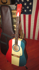 1976 Regal Limited Edition T-476 Bicentennial Dreadnought Acoustic