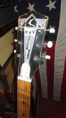 Circa 1963 Kay K1982 Style Leader Double Pickup